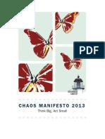 Chaos Manifesto 2013