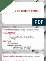 Direito Penal (Parte Geral) - Aula 02 - Fontes Do Direito Penal
