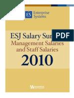 Salario en informatica 2010