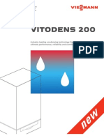 Viessmann Vitodens-200 WB2B High Efficiency Condensing Hot Water  Brochure