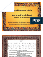 Iqbal Asrare-E-Khudi (Data.nur.Nu0