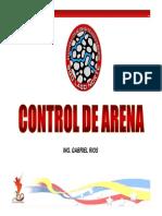 10. Control de Arena - Ing. Gabriel Rios [Modo de Compatibilidad]