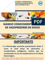 3. Drogas Vasopresoras