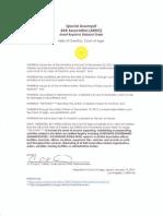 Special Assumpsit, BAR Association (ARDO)