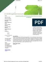Www.herbal Supplement Resource.com Coleus Forskohlii