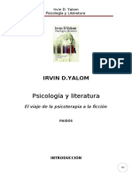 48777479 Yalom Irvin D Psicologia y Literatura