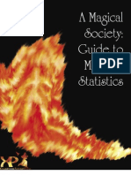 A Magical Society Guide to Monster Statistics