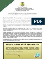 Release Semana Nacional do Trânsito Set2009