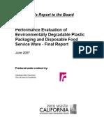 California Report 2007