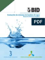 Evaluacion de Sistemas de Bombeo de Agua - Manual de Eficiencia Energetica
