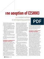 The adoption of CESMM3