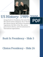 us history 1989-2000 powerpoint