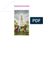 Messages - Our Lady of Fatima