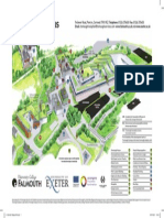 2011 Tremough Campus Map Aw
