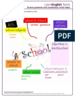 Worksheet Mind Map With Words Related to School