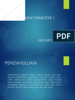 Presentasi Referatpendarahan Trimester 1