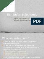 Exhibitions Milestones