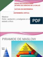 Maslow y Dolor Critica..