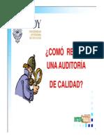 Cómo recibir una auditoria de calidad (Unidad_6)