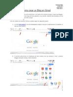 Como Crear Un Blog en Gmail