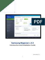 Samsung Magician 43 Installation Guide