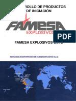 90663020 Desarrollo de Productos de Iniciacion Famesa Explosivos s a c