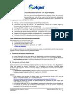 Como Facturar Electronicamente Con Aspel-SAE 2010B