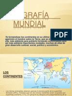 GEOGRAFÍA MUNDIAL - CONTINENTE AMERICANO
