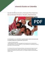 Ley de Convivencia Escolar en Colombia