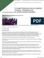 DESARROLLO DE COMPETENCIAS CON EL DISEÑO CURRICULAR NACI