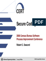 Developing Secure Code Robert Seacord