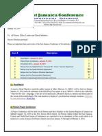 Communication -Advisory for Jan 10 -2014