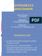 Hiperemesis gravidarum ppt