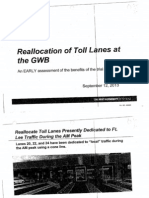 Port Authority Fort Lee Traffic Study