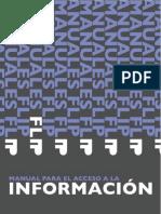 Manual de Acceso a la información - Fundación para la Libertad de Prensa