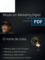 Miopia em Marketing Digital