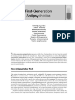 First Generation Antipsychotic