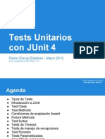Presentacion JUnit4 PauloClavijo Mayo 2012
