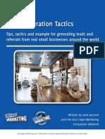 50 Simple Lead Generation Tactics