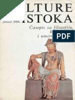 Kulture Istoka - 00. (januar 1984.)