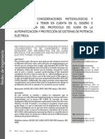Criterios y Consideraciones El Protocolo Iec 61850