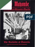 102723473 Palo Mayombe Spirits Rituals Spells the Darkside of Santeria Carlos G Montenegro
