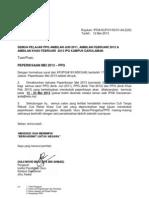 Surat Makluman Pep Mei 2013 Ppg Sem 2 3 4