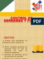 Control de Derrames y Fugas