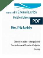 Módulo I Reforma al Sistema de Justicia Penal en México