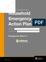 Calgary Canada Household Emergency Action Plan Guide