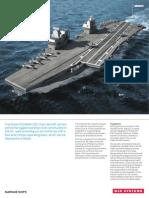 HMS Queen Elizabeth carrier Datasheet PDF