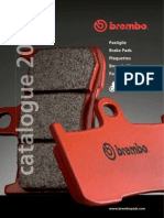Brembo Brake Pads Catalogue 2010