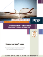 Distanc Learning Program on Certified Sukuk Professional