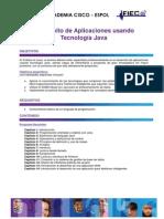 Desarrollo de Aplicaciones Usando Tecnologia Java